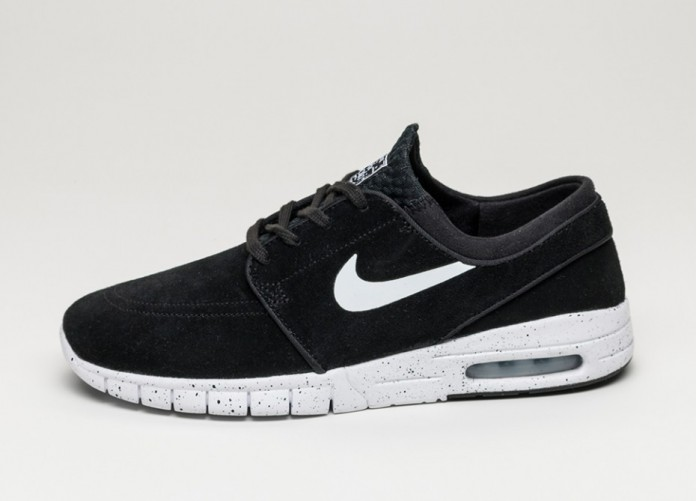Мужские кроссовки Nike SB STEFAN JANOSKI MAX L (Black / White) | Интернет-магазин Sole