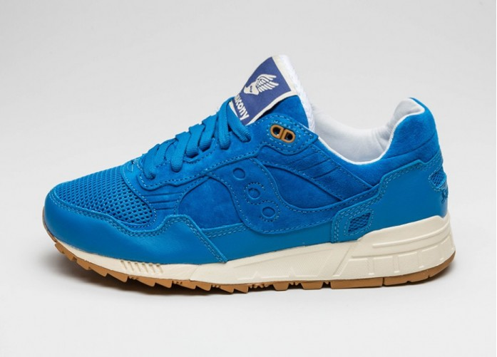 Мужские кроссовки Saucony X Bodega Shadow 5000 *Re-Issue* (Blue) | Интернет-магазин Sole
