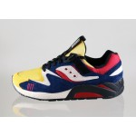 Мужские кроссовки Saucony x Play Cloths Grid 9000 *Motocross* (Yellow / Navy / White), фото 1 | Интернет-магазин Sole