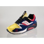 Мужские кроссовки Saucony x Play Cloths Grid 9000 *Motocross* (Yellow / Navy / White), фото 2 | Интернет-магазин Sole