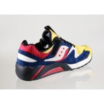 Мужские кроссовки Saucony x Play Cloths Grid 9000 *Motocross* (Yellow / Navy / White), фото 3 | Интернет-магазин Sole