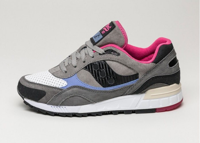 Мужские кроссовки Saucony x West NYC Shadow 90 *Saltwater Fisherman* (Grey / White) | Интернет-магазин Sole