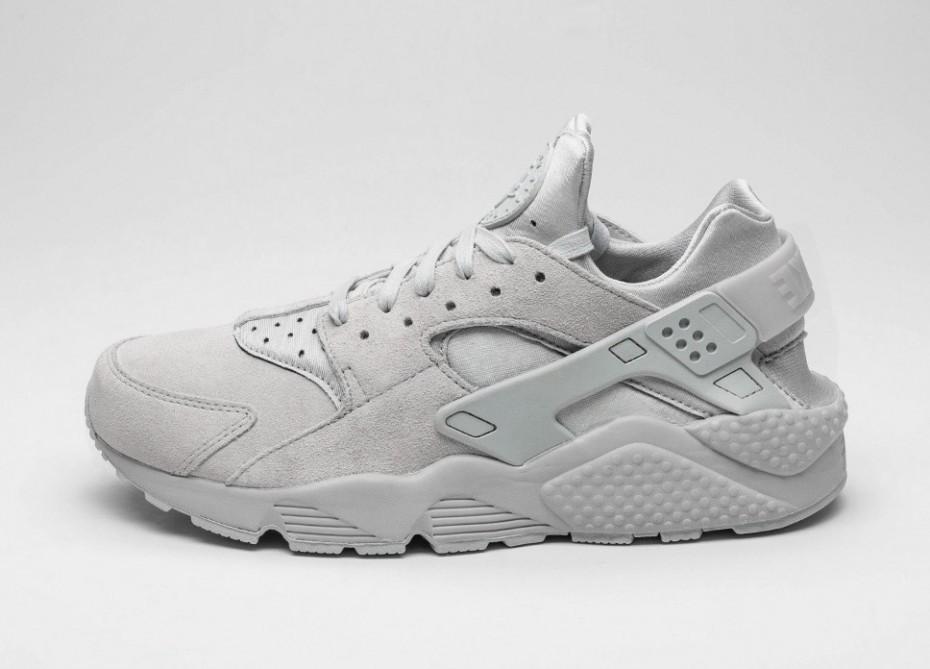 98931f71 Мужские кроссовки Nike Air Huarache Run PRM (Neutral Grey / Neutral Grey)    Интернет