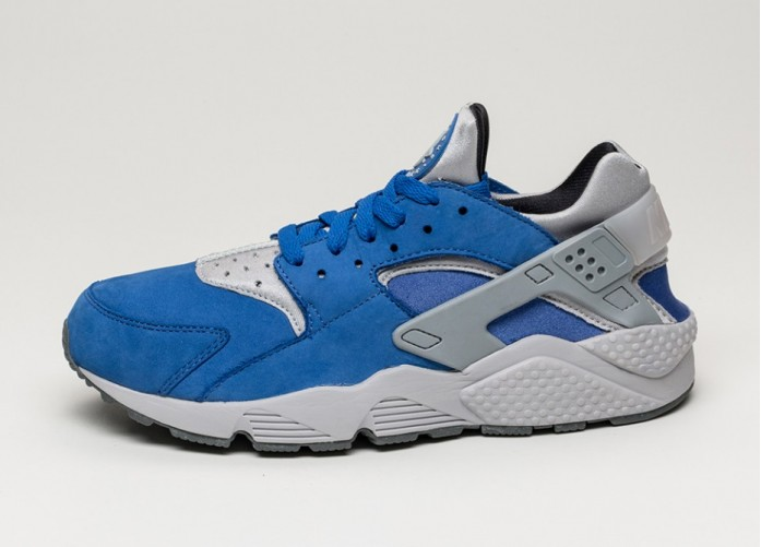 Мужские кроссовки Nike Air Huarache Run PRM (Varsity Royal / Wolf Grey - Cool Grey) | Интернет-магазин Sole
