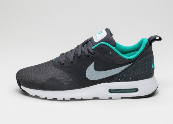 Мужские кроссовки Nike Air Max Tavas (Anthracite / White - Clear Jade - Black) | Интернет-магазин Sole