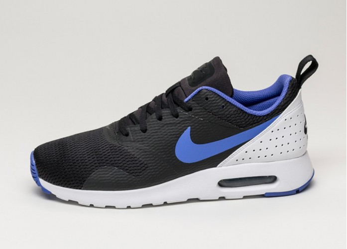 Мужские кроссовки Nike Air Max Tavas (Black / Persian Violet - White) | Интернет-магазин Sole