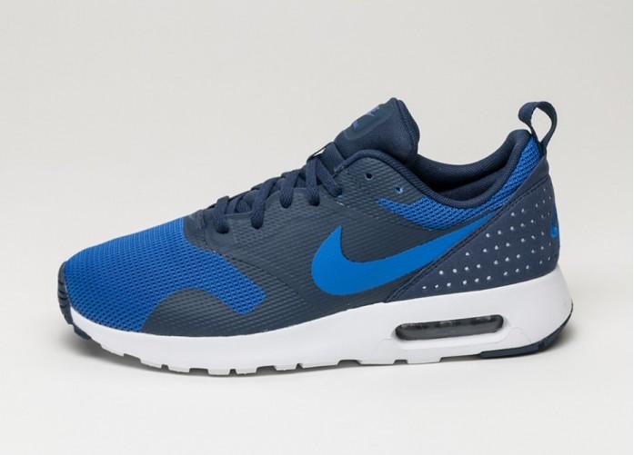 Мужские кроссовки Nike Air Max Tavas (Mid Navy / Lyn Blue - Lyn Blue - White) | Интернет-магазин Sole