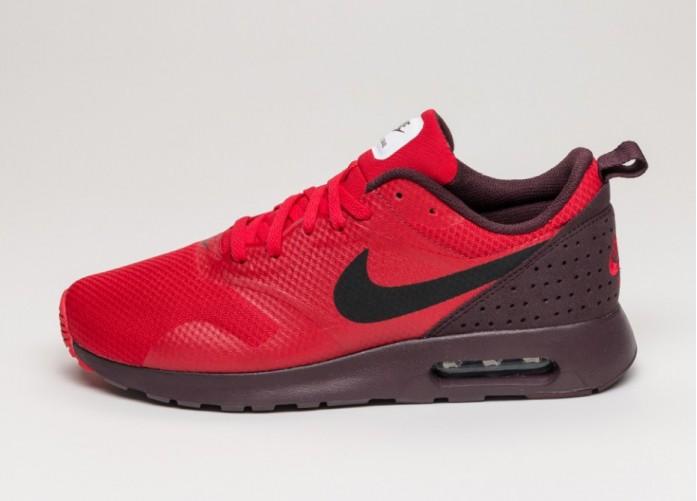 Мужские кроссовки Nike Air Max Tavas (Deep Burgundy / Black - University Red) | Интернет-магазин Sole