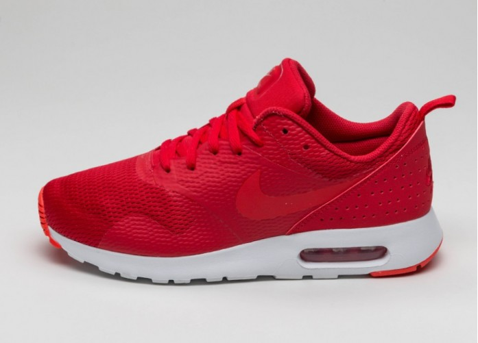 Мужские кроссовки Nike Air Max Tavas (University Red / Lite Crimson - White) | Интернет-магазин Sole