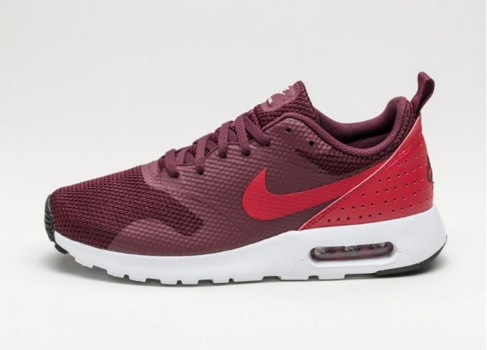 Мужские кроссовки Nike Air Max Tavas (Night Maroon / Gym Red - Black - White) | Интернет-магазин Sole