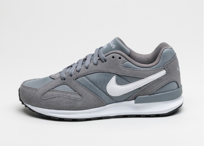 Мужские кроссовки Nike Air Pegasus New Racer (Cool Grey / White - White) | Интернет-магазин Sole