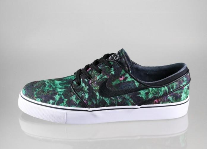 Мужские кроссовки Nike SB Zoom Stefan Janoski CNVS PRM (Gorge Green / Black - White) | Интернет-магазин Sole