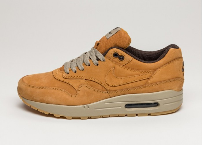 Мужские кроссовки Nike Air Max 1 LTR Premium (Bronze / Bronze - Baroque Brown) | Интернет-магазин Sole