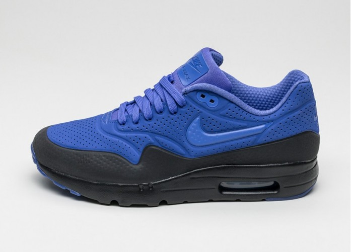 Мужские кроссовки Nike Air Max 1 Ultra Moire (Persian Violet / Persian Violet - Black)   Интернет-магазин Sole