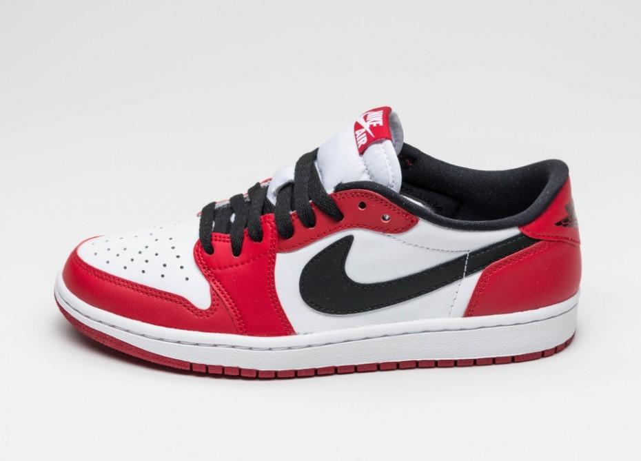 f5534de86ac7 Мужские кроссовки Nike Air Jordan 1 Retro Low OG *Chicago* (Varsity ...