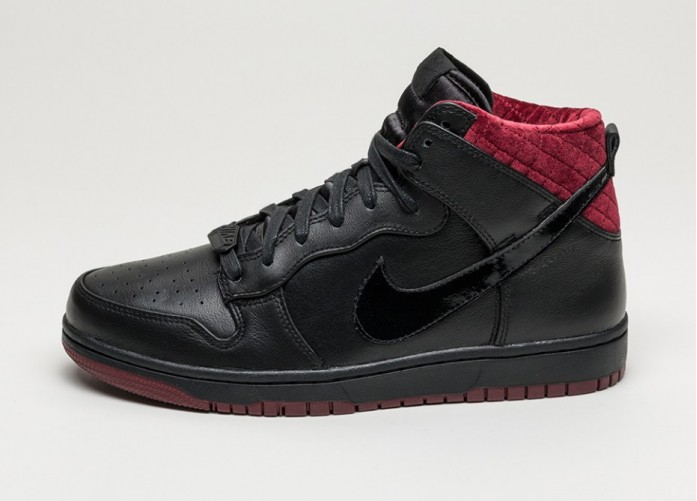 Мужские кроссовки Nike Dunk CMFT PRM QS *Coffin* (Black / Black - Team Red) | Интернет-магазин Sole