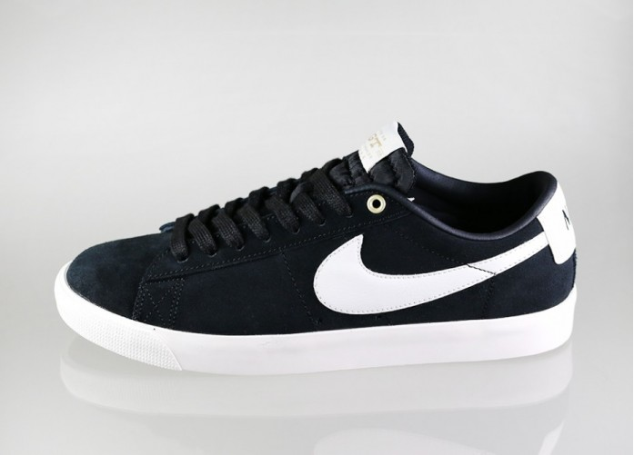 Мужские кроссовки Nike SB Blazer Low GT QS *Grant Taylor* (Black / Sail) | Интернет-магазин Sole