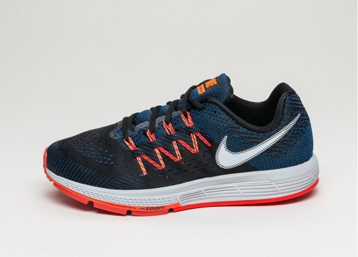 Мужские кроссовки Nike Air Zoom Vomero 10 (Game Royal / White - Hyper Orange - Black) | Интернет-магазин Sole
