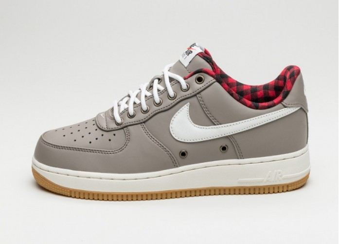 Мужские кроссовки Nike Air Force 1 '07 LV8 (Light Taupe / Sail - Tour Yellow) | Интернет-магазин Sole