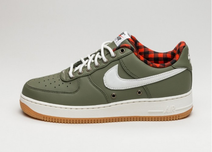 Мужские кроссовки Nike Air Force 1 '07 LV8 (Urban Haze / Sail - Team Orange) | Интернет-магазин Sole