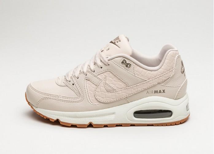 Женские кроссовки Nike Wmns Air Max Command PRM Essential (Oatmeal / Oatmeal - Sail - Khaki) | Интернет-магазин Sole