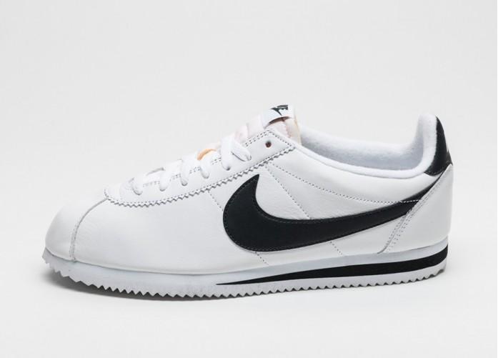Мужские кроссовки Nike Classic Cortez Premium QS (white / black) | Интернет-магазин Sole