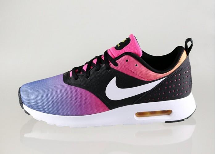 Мужские кроссовки Nike Air Max Tavas SD (Black / White - Pink Pow - True Yellow) | Интернет-магазин Sole