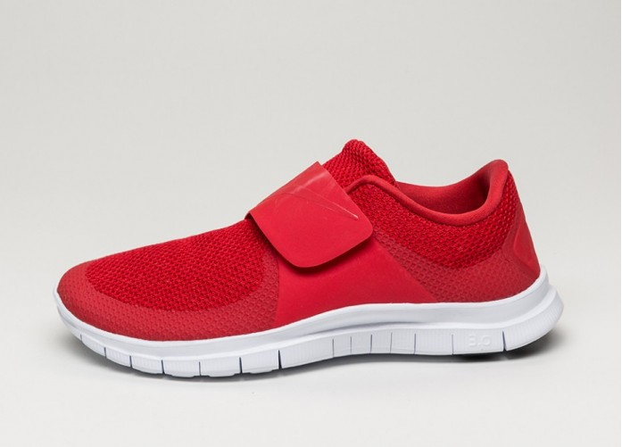 Мужские кроссовки Nike Free Socfly (University Red / University Red - White - Black) | Интернет-магазин Sole