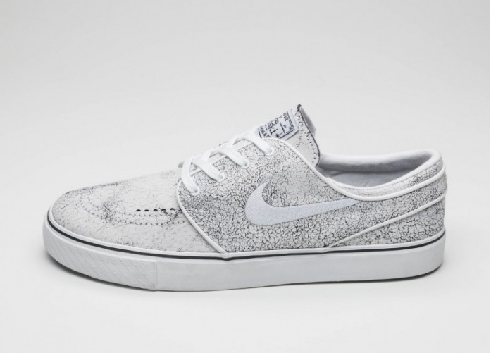 Мужские кроссовки Nike SB Zoom Stefan Janoski Elite (White / White - Black - Clear) | Интернет-магазин Sole