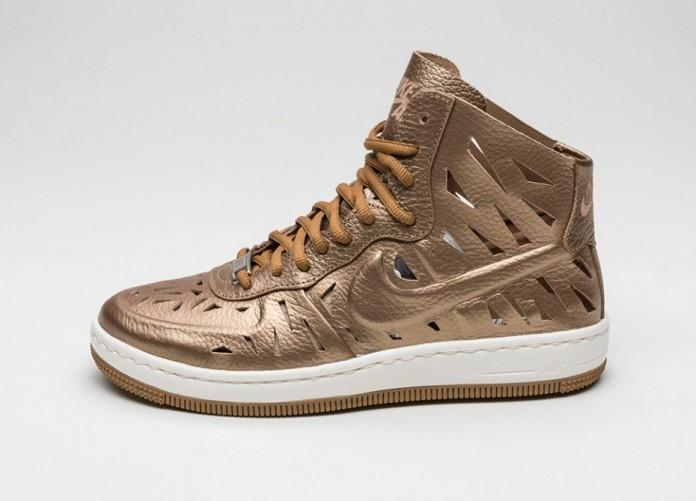 Мужские кроссовки Nike Wmns AF1 Ultra Force Mid Joli (Metallic Golden Tan / Metallic Golden Tan - Golden) | Интернет-магазин Sole