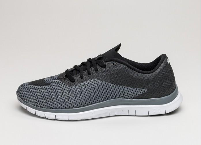 Мужские кроссовки Nike Free Hypervenom Low (Black / Black - Cool Grey - White) | Интернет-магазин Sole