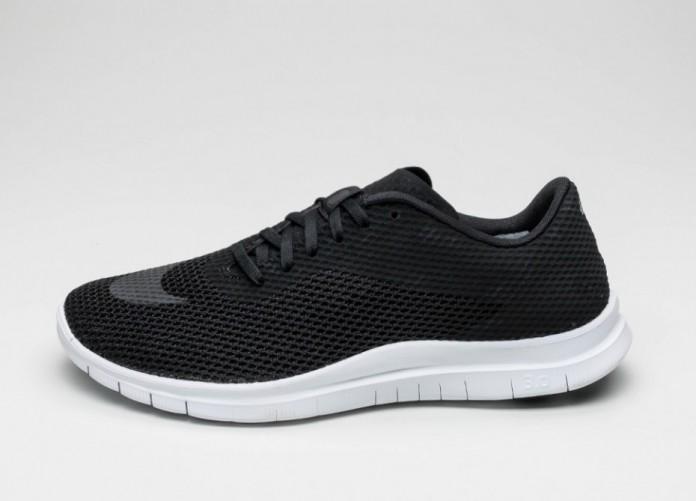 Мужские кроссовки Nike Free Hypervenom Low (Black / Black - White) | Интернет-магазин Sole