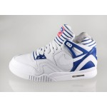 Мужские кроссовки Nike Air Tech Challenge II PA (White / White - Gym Blue - Bright Crimson), фото 1 | Интернет-магазин Sole
