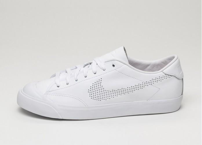 Мужские кроссовки Nike All Court 2 Low QS (White / White - White) | Интернет-магазин Sole