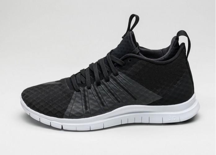 Мужские кроссовки Nike Free Hypervenom 2 (Black / Black - White) | Интернет-магазин Sole