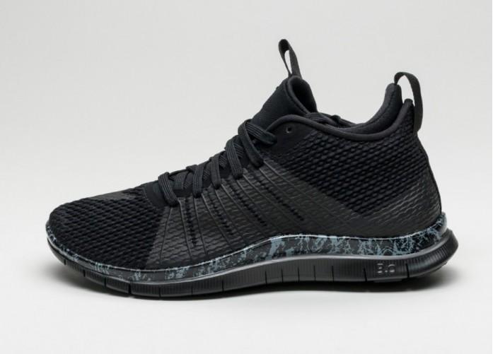 Мужские кроссовки Nike Free Hypervenom 2 (Black / Black - Cool Grey - White) | Интернет-магазин Sole