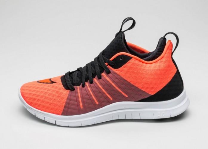 Мужские кроссовки Nike Free Hypervenom 2 (Total Crimson / Total Crimson - Black - White) | Интернет-магазин Sole