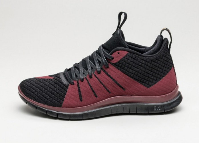 Мужские кроссовки Nike Free Hypervenom 2 FC (Black / Team Red - Team Red - Metallic Gold) | Интернет-магазин Sole