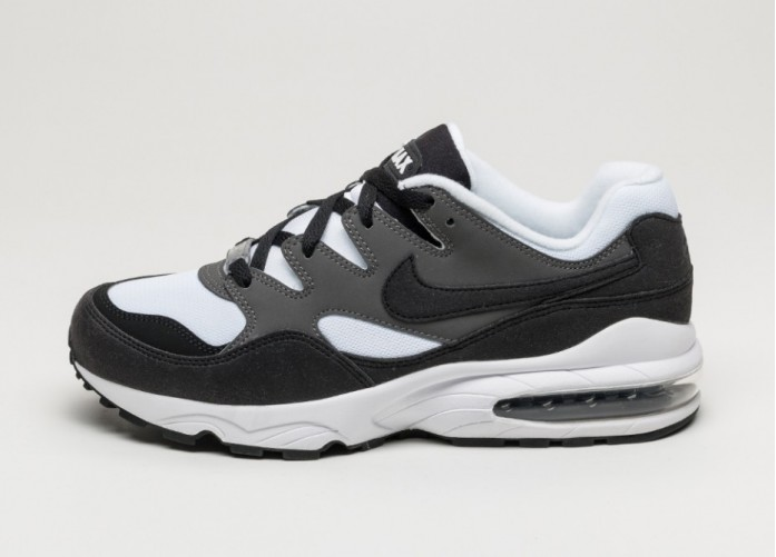 Мужские кроссовки Nike Air Max 94 (White / Black - Dark Grey) | Интернет-магазин Sole