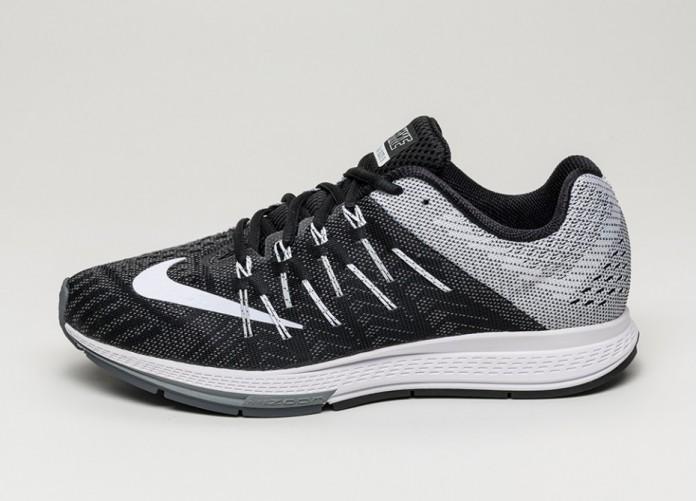 Мужские кроссовки Nike Air Zoom Elite 8 (Black / White - Wolf Grey - Dark Grey) | Интернет-магазин Sole