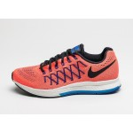 Мужские кроссовки Nike Air Zoom Pegasus 32 (Total Crimson / Black - Photo Blue - Racer Blue), фото 1 | Интернет-магазин Sole