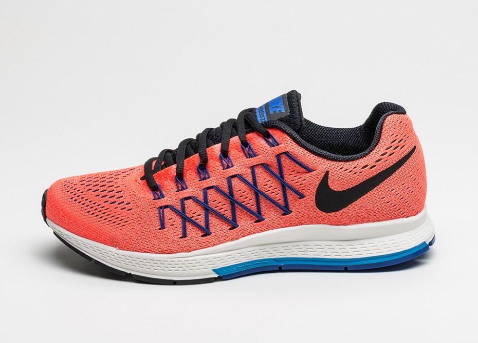 e22cbe5d Мужские кроссовки Nike Air Zoom Pegasus 32 (Total Crimson / Black - Photo  Blue -