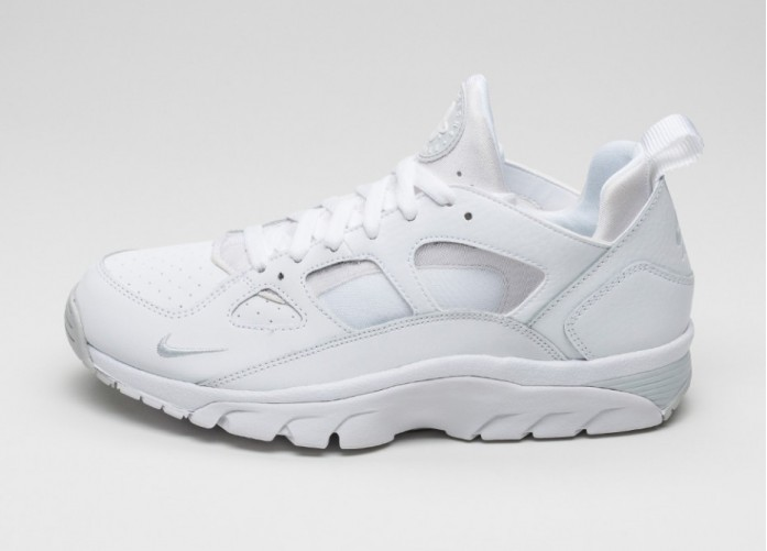 Мужские кроссовки Nike Air Trainer Huarache Low (White / White - Pure Platinum) | Интернет-магазин Sole