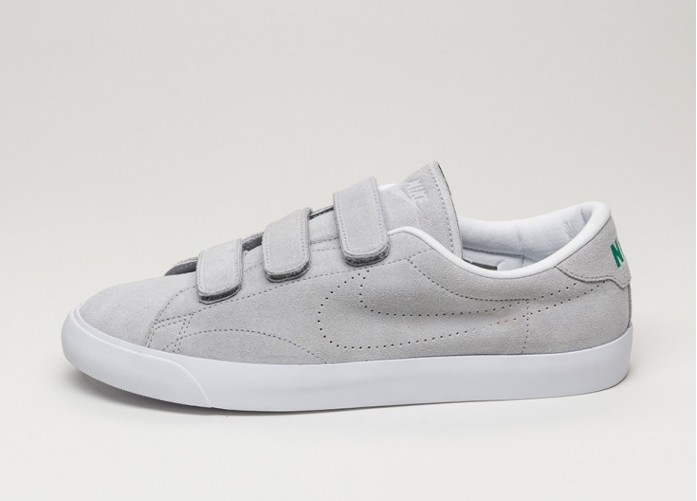 Мужские кроссовки Nike Tennis Classic AC V (Wolf Grey / Wolf Grey - Lucid Green - White) | Интернет-магазин Sole