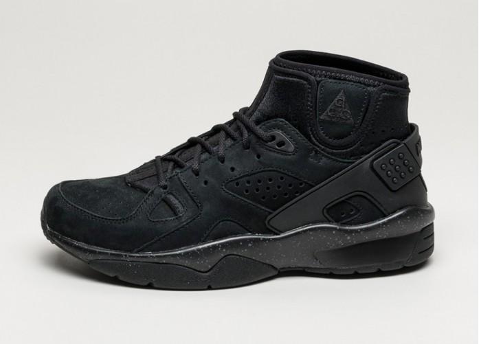 Мужские кроссовки Nike Mowabb OG (Black / White - Total Orange) | Интернет-магазин Sole