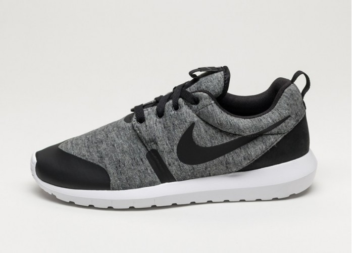 Мужские кроссовки Nike Roshe NM TP (Cool Grey / Black - White) | Интернет-магазин Sole