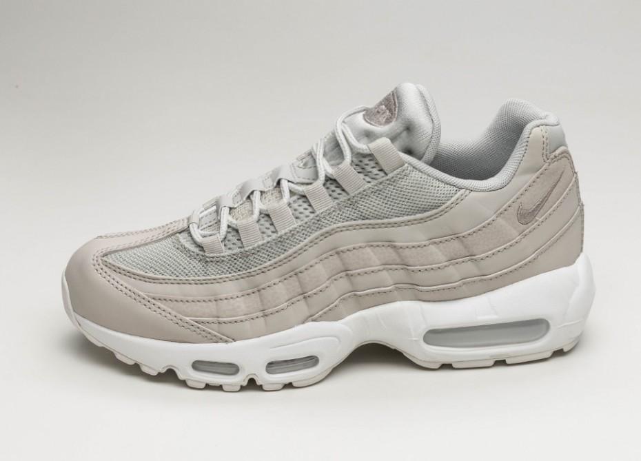 6b3b91ba7cd2 Мужские кроссовки Nike Air Max 95 Essential (Pale Grey   Pale Grey - Summit  White