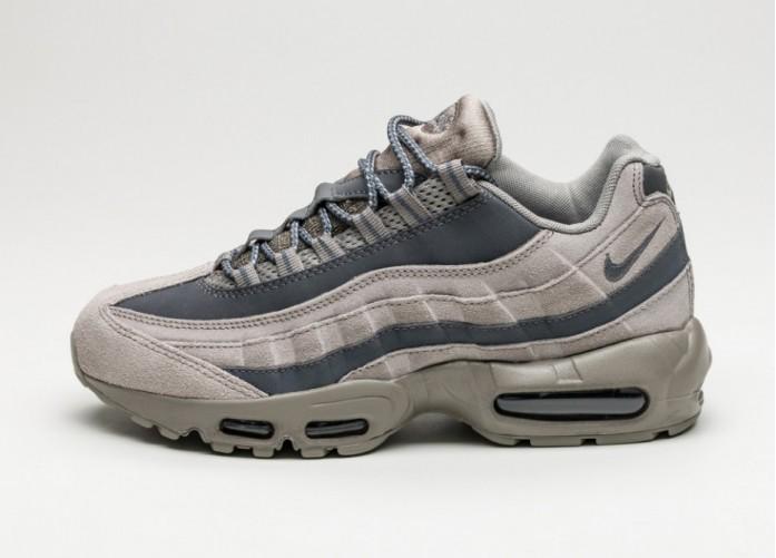 Мужские кроссовки Nike Air Max 95 Essential (Light Taupe / Dark Grey - Light Taupe) | Интернет-магазин Sole