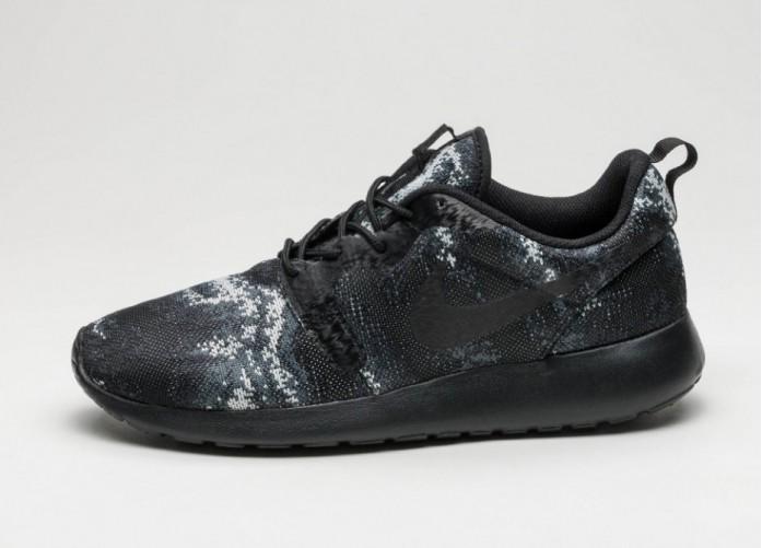 Мужские кроссовки Nike Roshe One KJCRD (Black / Black - Wolf Grey - Dark Grey) | Интернет-магазин Sole
