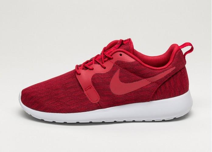 Мужские кроссовки Nike Roshe One KJCRD (Gym Red / Gym Red - Team Red - Black) | Интернет-магазин Sole